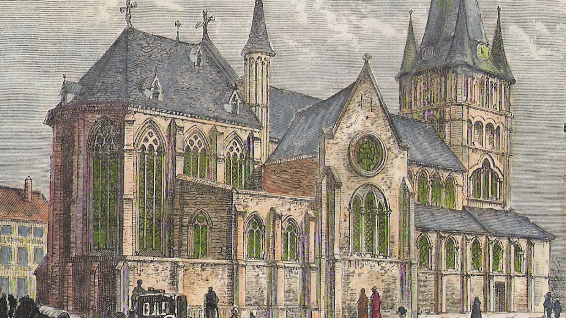 Cliquez ici pour en savoir plus sur Eglise St-Jacques à Tournai